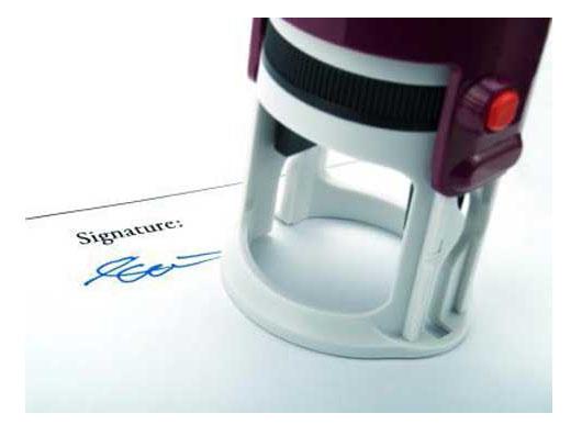 Образцы подписи директора и печать